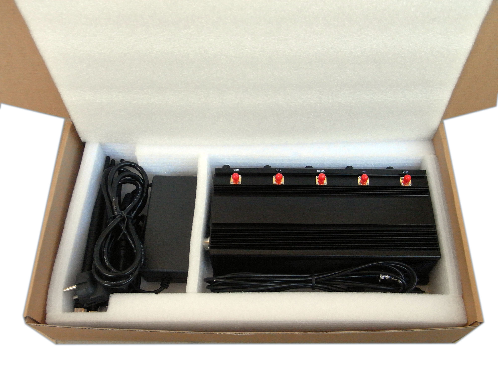 Car Garage Remote Jammer Shelter Isolator SPY-101A-5D