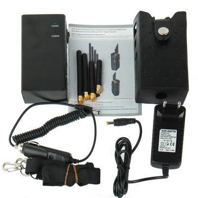 SPY 121A Mobile frequency jammer
