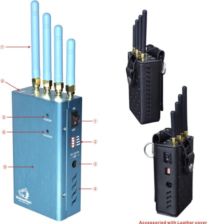 Jammer gps app - 5 High Power All Cell Phone Jammer