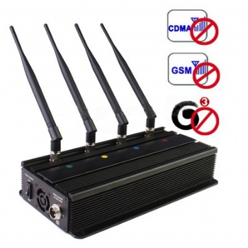 4 antenna high power cell phone jammer SPY-101A