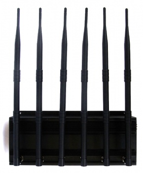 Multi-channel mobile phone jammer SPY-101A-6D